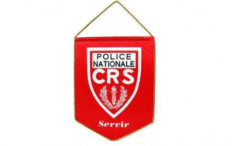 Fanion pour la police