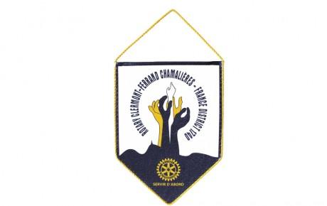 Fanion pour le Rotary